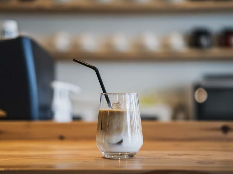 もへじ珈琲のアイスコーヒー