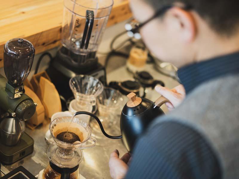 もへじ珈琲のコーヒー