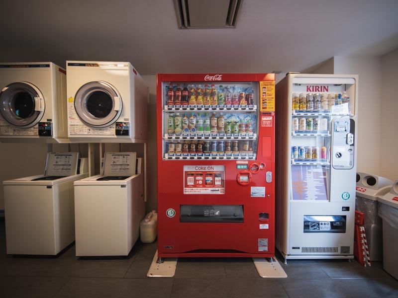 ホテル レオン浜松 自販機 乾燥機
