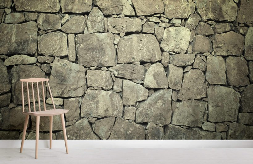 Old Stone Texture Wallpaper Wall Mural
