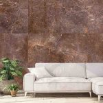 Wallpaper Mural Brown Marble Muralunique