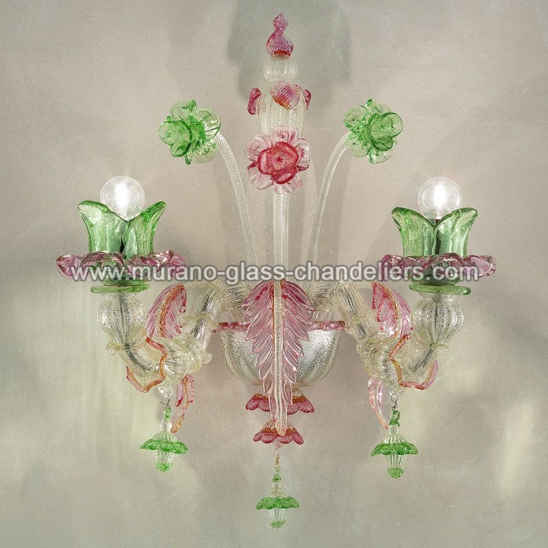Ines small murano glass wall sconce murano glass chandeliers blog ines murano glass wall sconce a2 aloadofball Gallery