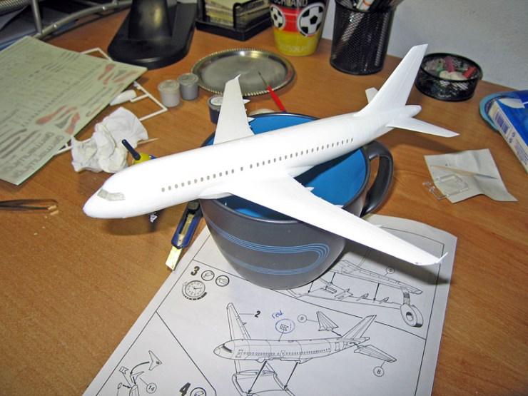 Uçak Bitmiş Hal