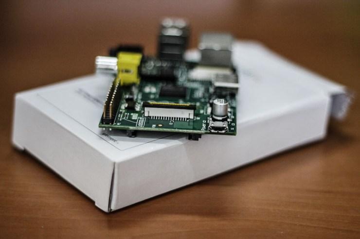 Raspberry Pi MicroUSB Girişi