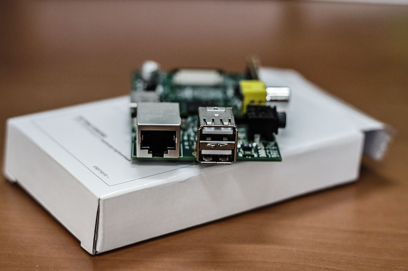 Raspberry Pi Ethernet USB Girişi