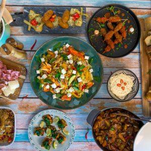 Koldtbord buffet Middelhavet