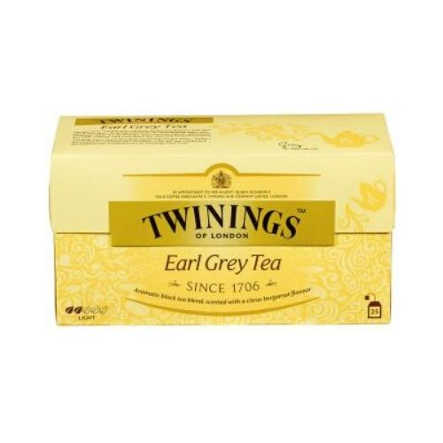 EARL GREY TEA TWININGS 25 pos