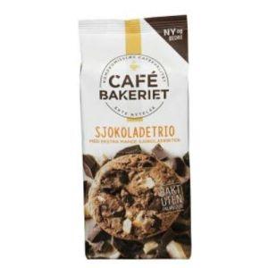 CAFÉ BAKERIET SJOKOLADETRIO 200G