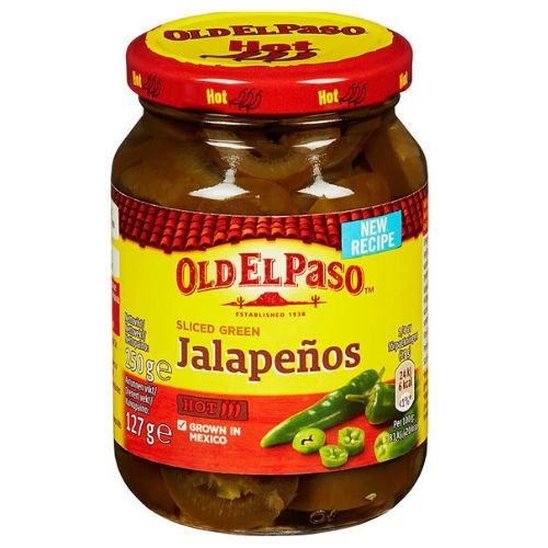 JALAPENOS 250G OLD EL PASO