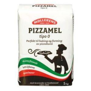 PIZZAMEL TIPO 0 1KG MØLLERENS