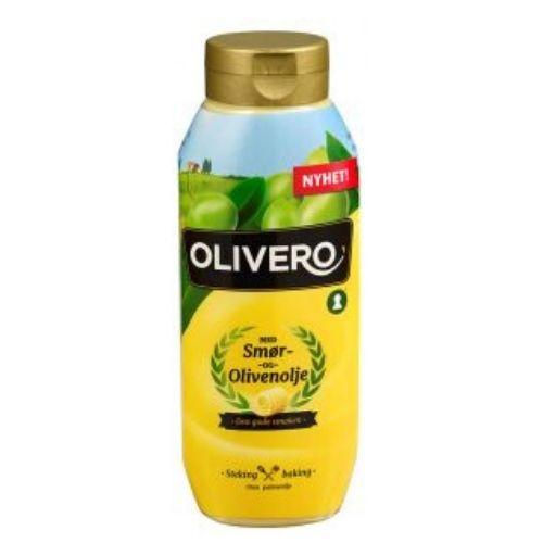 OLIVERO FLYTENDE SMØR & OLIVENOLJE 520ML