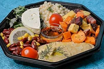 Vegetar salat stor
