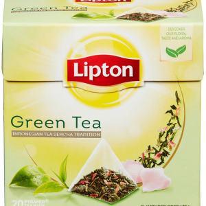 GREEN TEA PYRAMIDE 20POS LIPTON
