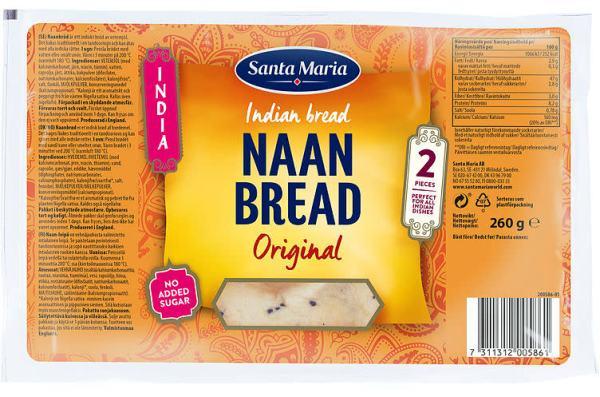 NAAN BREAD ORIGINAL 260G ST.MARIA