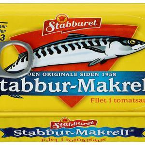 STABBUR-MAKRELL I TOMAT STABBURET 110G