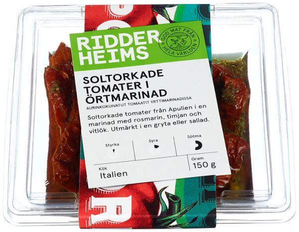 SOLTØRKEDE TOMATER URTEMARINADE 150G
