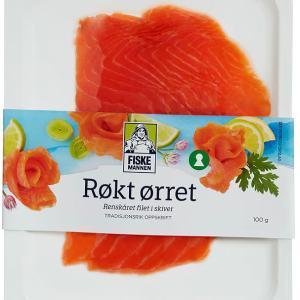 ØRRET RØKT SKIVET FISKEM.