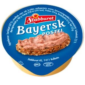 Stabburet Bayerpostei kuvertbeger 22 g