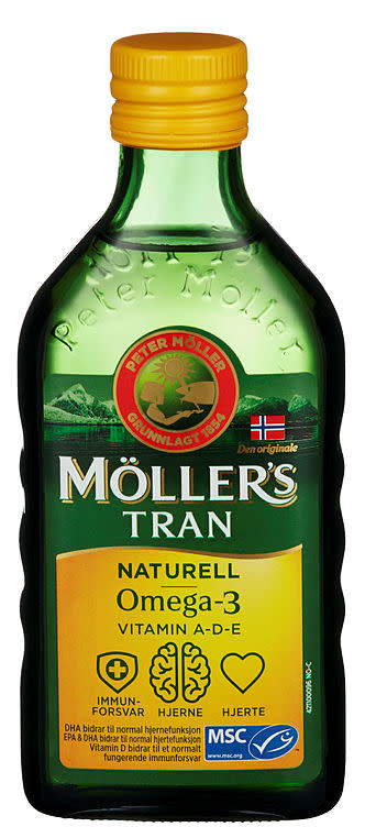 MØLLERS TRAN NATURELL 250ML