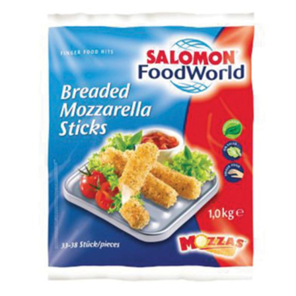 MOZZARELLA STICKS SALOMON 1KG