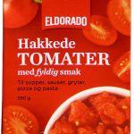 TOMATER HAKKEDE NATURELL 390G ELDORADO