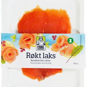 LAKS RØKT SKIVET 100G FISKEMANNEN