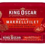 MAKRELLFILET SKINNFRI I TOMAT 170G KING