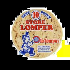 Lomper store 10 stk. 280g
