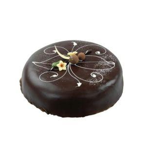 Sjokoladekake med marsipan