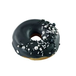 Black & White Doughnut