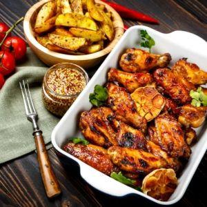 kyllingvinger,potet