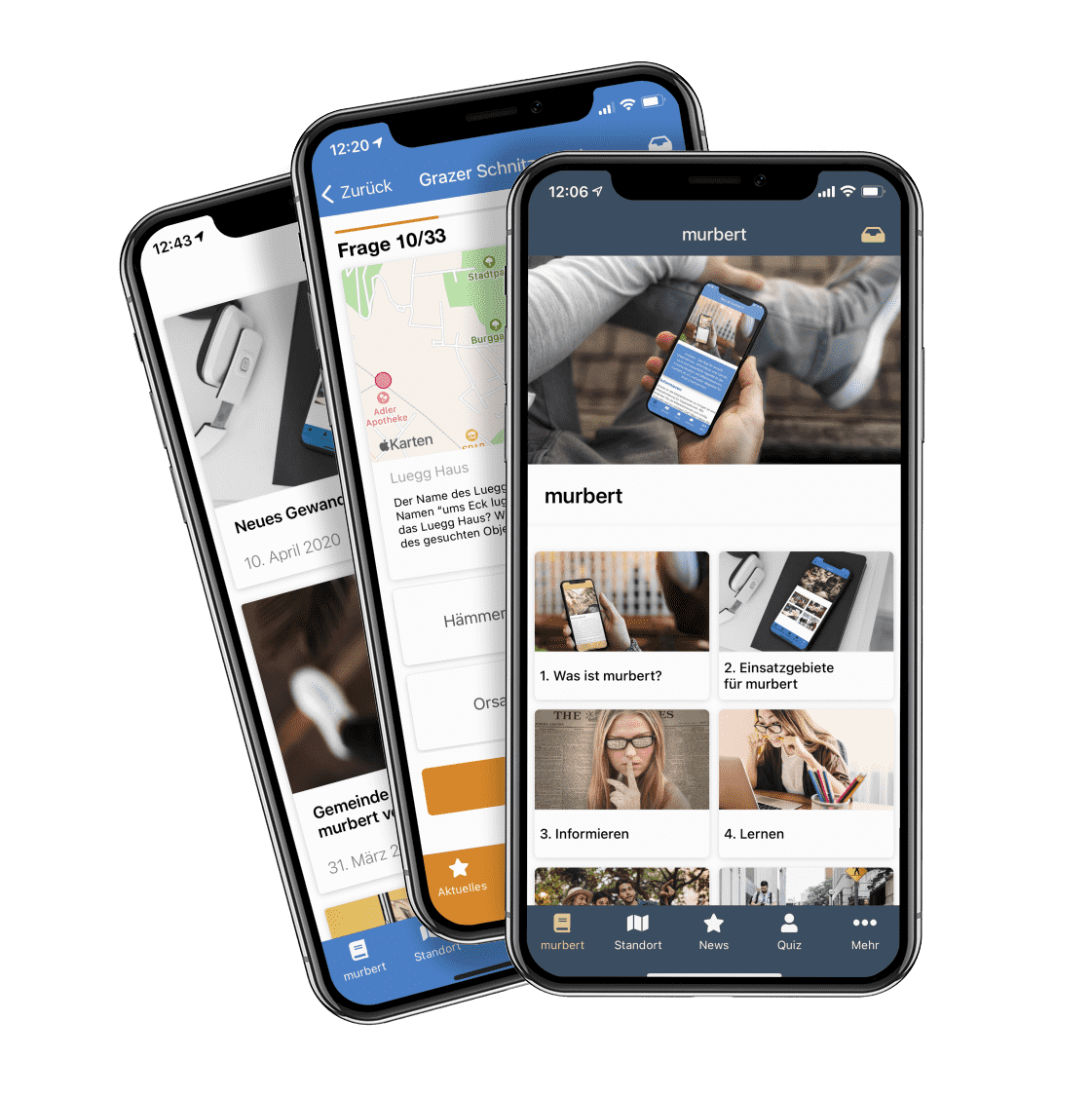 murbert - der App-Baukasten für smarte Apps