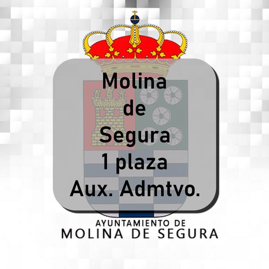Molina de Segura Auxiliar Administrativo