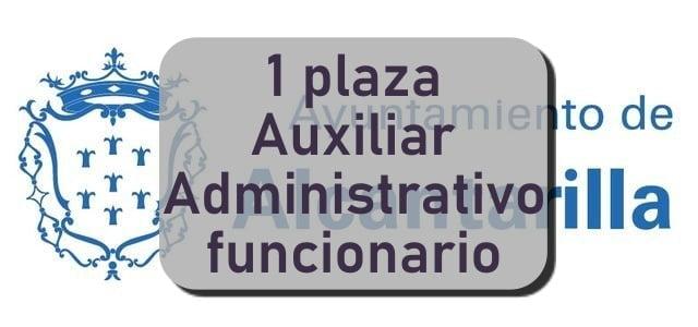Auxiliar administrativo Alcantarilla