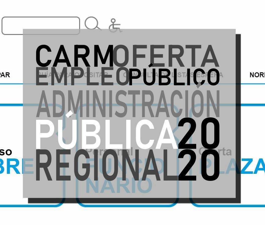 Oferta empleo público 2020 CARM