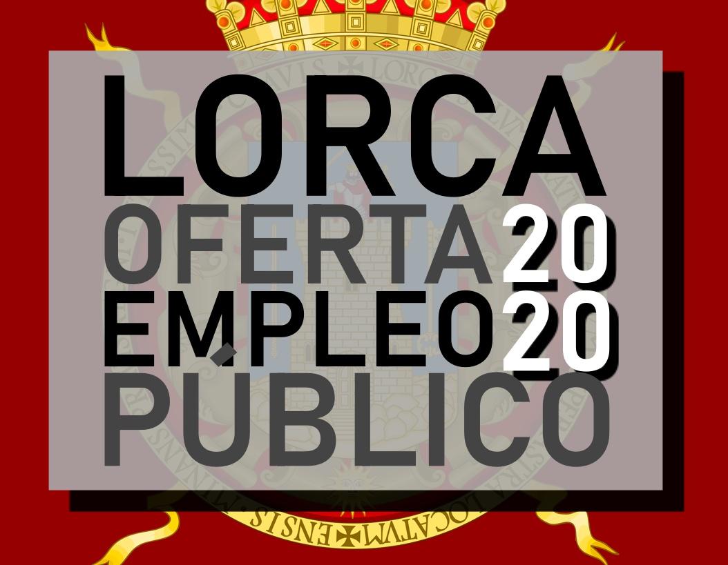 oferta de empleo público 2020 del Ayuntamiento de Lorca