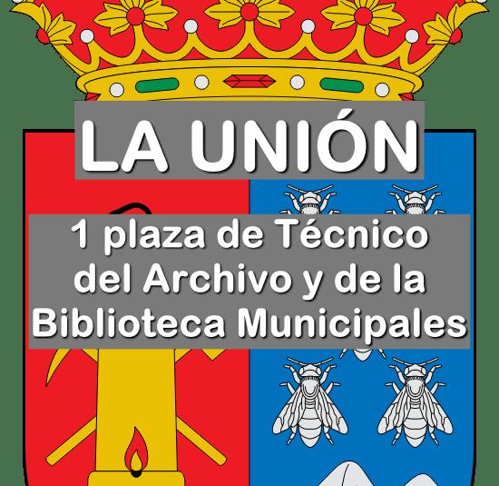 1 Técnico del Archivo y Biblioteca Municipal de La Unión