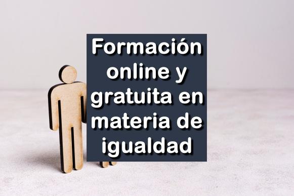 formación online y gratuita en materia de igualdad