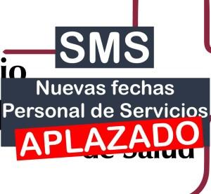 APLAZADO PERSONAL DE SERVICIOS DEL SMS