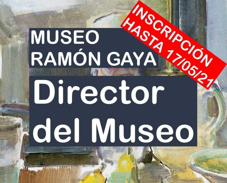 Puesto de Director del Museo Ramón Gaya