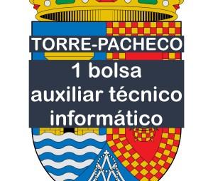 1 bolsa de auxiliar técnico informático en Torre-Pacheco