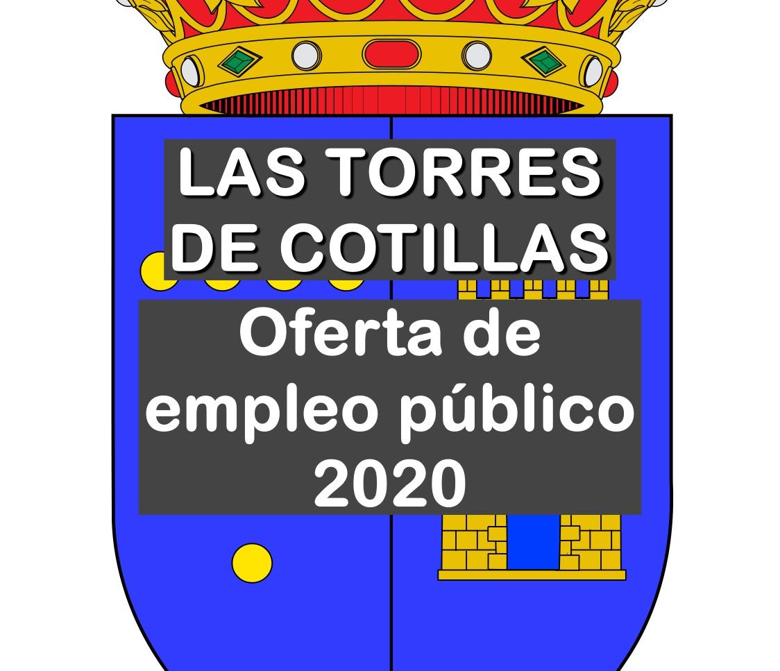 Oferta de empleo público 2020 de Las Torres de Cotillas
