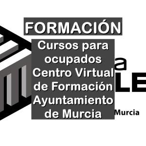 cursos para ocupados del Centro Virtual de Formación del Ayuntamiento de Murcia
