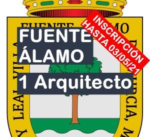 1 plaza de Arquitecto en Fuente Álamo