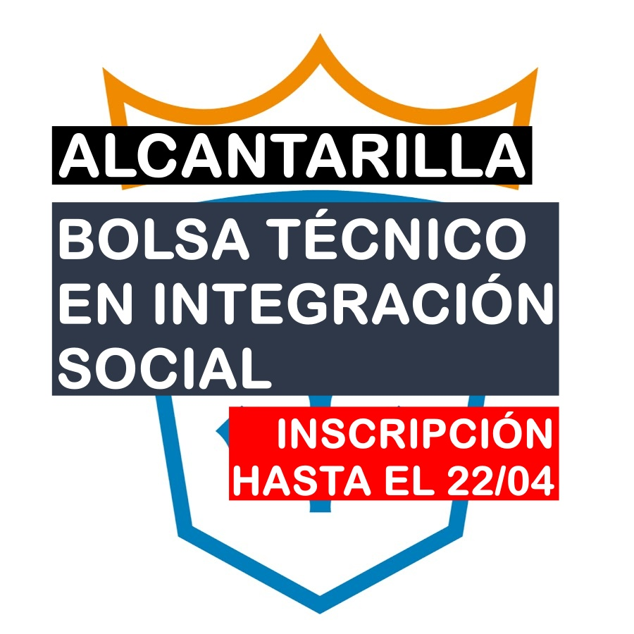 Bolsa de Trabajo de Técnico Superior en Integración Social en Alcantarilla