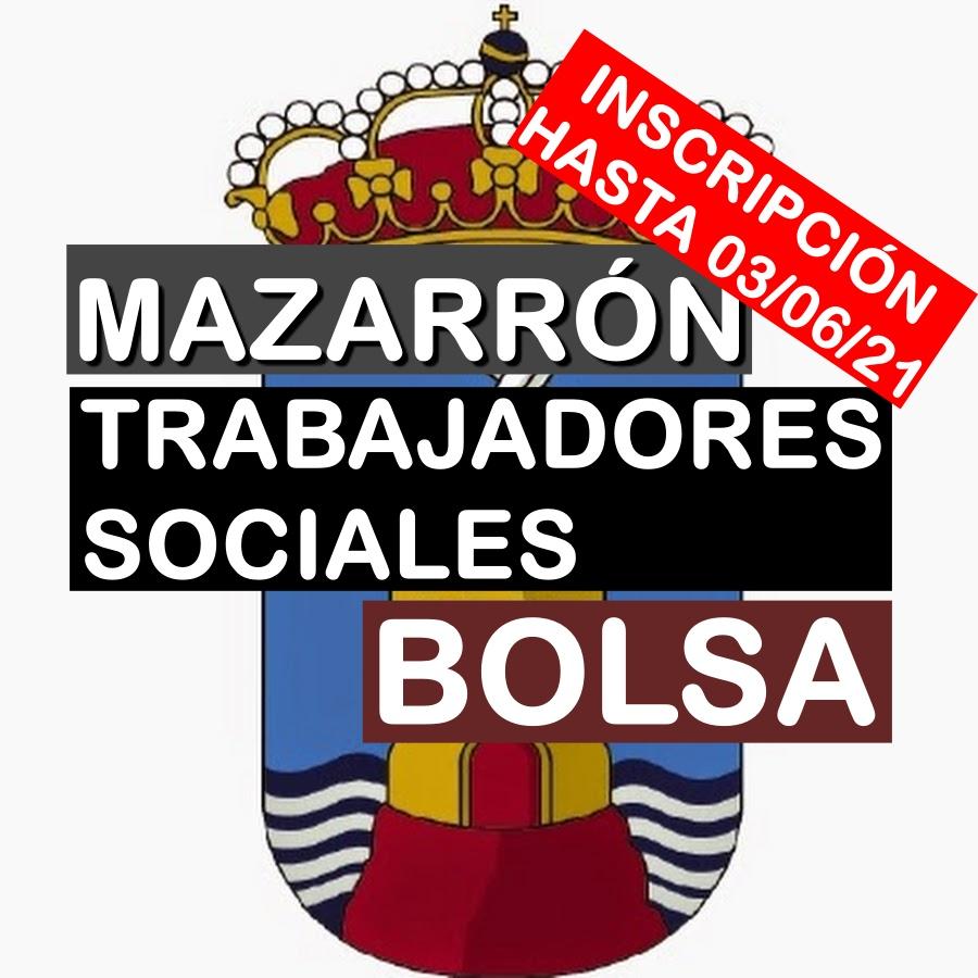 1 Bolsa de Trabajadores Sociales en Mazarrón