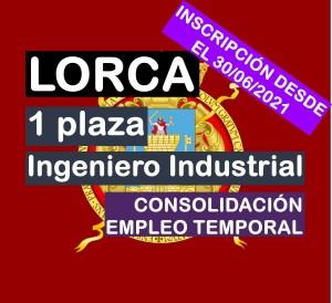 1 Ingeniero Industrial en Lorca