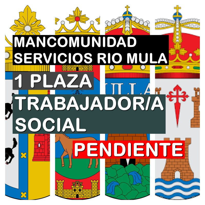 1 Trabajador/a Social en la Mancomunidad de Servicios Sociales del Río Mula