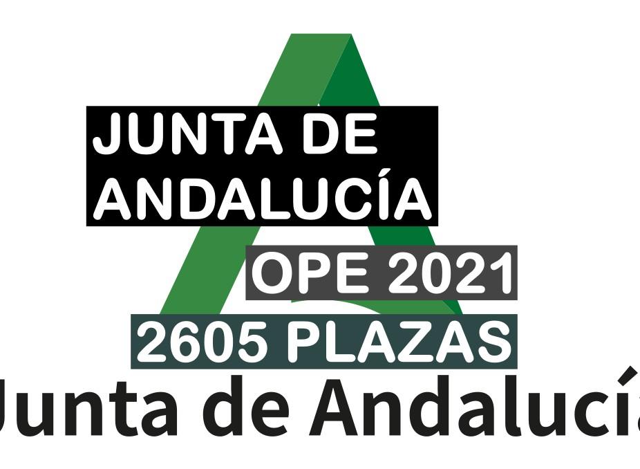 Oferta de Empleo Público 2021 de La Junta de Andalucía
