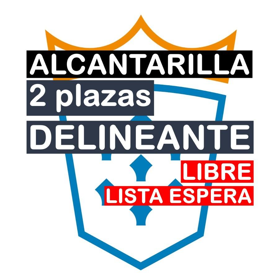 2 plazas Delineante en Alcantarilla